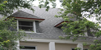 roof with solaris shingles